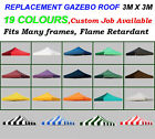 replacment cover for 3 x 3m EZ POP UP tent canopy instant shelter gazebo marquee
