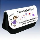 Personalised Godmother Christening Thank You Make Up Bag Case Christmas Gift
