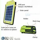 Leisure Pursuits 2.5w Solar Panel Charger or Universal Battery Pack - 2000mAh
