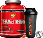 BSN TRUE MASS BUILD MUSCLE WEIGHT GAINER RECOVERY TRUEMASS 2.61KG + SHAKER