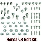 70pc PLASTICS BOLT KIT HONDA CR 60 80 85 125 250 450 480 500 FENDERS SEAT SHROUD