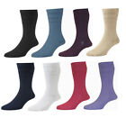 Womens/Ladies HJ Hall Socks, Non-Elastic Cotton Rich Ventilated Foot Socks