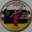 1999-D Pennslyvania State Quarter, Beautiful Coloring