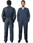 Boiler Suit Coverall Overall Workwear Mechanics Work Suit Navy Blue S to XXXL