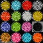 7mm Sugar Pearls Cupcake Wedding cake toppers Sprinkles Gumpaste Fondant Dragees