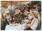 Luncheon of the Boating Party 1881- Pierre-Auguste Renoir - Art on Canvas
