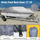 17%2D19+ft+Trailerable+Boat+Cover+Waterproof+V%2DHull+95%27%27+Beam+Heavy+Duty+GBT2H