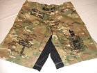 ROYAL MARINES NEW CAMO MMA PT S-T-COMP BOARD SHORT FIGHT SHORTS SIZES S-3XL