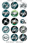 Pre-Cut 1 Inch Circle - Football Sports Team of Your Choice