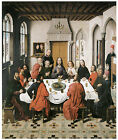 The Last Supper, 1464-67, -DIERIC BOUTS- Life of Jesus on Canvas