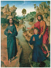 Christ and St. John the Baptist, DIERIC BOUTS - Life of JESUS in Art