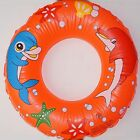 "CHILDS INFLATABLE SWIMMING POOL RING 24"" (60cm) ROUND Leisure Pursuits"