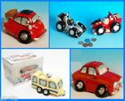 Classix Money Boxes BMW Isetta Caravan & Racing Car Coin Banks Regency Fine Arts