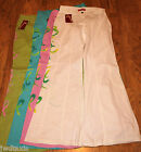 VTG RETRO 60 70 STYLE BELLBOTTOM TROUSERS FANCY DRESS DISCO  4 COLOURS S M L Xl