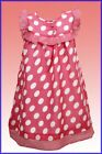 new NEXT girl's cotton spot dress pink  2/3 yrs last one