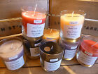 Large Handmade scented Glass Candles 60+ hour burn time