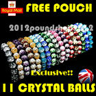 LIMITED GRADIENT SHAMBALLA BRACELET Crystal Disco Clay 11 Balls+ FREE POUCH