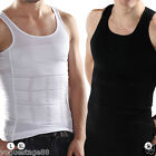 Mens Firm Tummy Belly Buster Control Slimming Body Shaper Vest Underwear Shirt