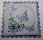 PACK 2 LILAC BUTTERFLY TOPPERS FOR CARDS OR CRAFTS - CHOOSE FROM 6 TITLES