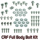 PLASTICS BODY  BOLT KIT HONDA CRF 150 250 450 FENDERS SEAT FORK GUARDS SHROUDS