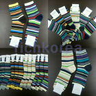 Socks Lot Adult Womens Mens shoes Cotton fashion dress casual Crew ankle Korean