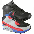 MENS ANKLE HI HIGH TOPS TRAINERS BOOTS BASKETBALL CASUAL SPORTS SHOES SIZES 7-12