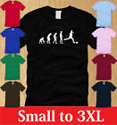 EVOLUTION INTO SOCCER MENS T-SHIRT S M L XL 2XL 3XL sports futbol football tee