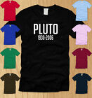 RIP PLUTO - MENS T-SHIRT LARGE funny planet science geeky nerdy nasa tee L