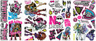 New MONSTER HIGH WALL DECALS Girls Bedroom Stickers Pink Black Room Decorations