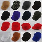 NEW FITTED ARMY MILITARY BDU COMBAT PATROL MULTICOLOURED CAMO BLACK RED HAT CAP