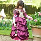 GIRLS FANCY DRESS DAMSON DUCHESS COSTUME AGES 3-5 YEARS / AGE 6-8 YEARS