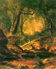 "White Mountains, New hampshire #2 by Albert Bierstadt, 20""x26"" Canvas Art"