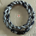 Phiten X30 Tornado Necklace: X30 Digital Camo Black/Gray with Classic Star Gray