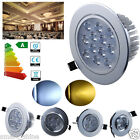 1W/3W/5W/7W/12W LED Ceiling Down Light Cabinet Recessed Fixture Spot Lamp Kits