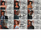 A1 A3 to A20 Shannen Doherty Alyssa Milano Carradine McMahon Auto Card Charmed