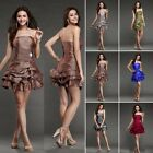 New Hot Sweetheart Bridesmaid Prom Party Wedding Stock Women Evening Dress  6 8