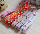 "1""&5/8"" (U pick) Minnie Printed Grosgrain Ribbon hair Bow 5/10/20 Yards"