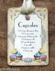 Hang Tags  BAKING CUPCAKES RECIPE TAGS or MAGNET #492  Gift Tags