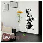 Dalmation Dog Wall Transfers / Removable Vinyl / Dog Wall Stickers bn35