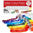 10 PK WATER COLOUR PAINTS ART AND CRAFT PAINT SET BRAND NEW CODE 5137