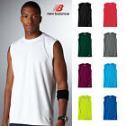 New Balance Men's Sleeveless Athletic Workout T-Shirt Ndurance Gym S-3XL B-7117