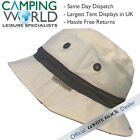 White Rock Oasis Cotton Solid Band Hat STONE - Hydro Cool and Bug Off + Pocket