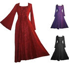 007 DR Lace Wedding Party Gothic Costume Renaissance Croset Dress ~ India