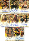 Kevin Sorbo HA1 A2 A3 A4 A6 A8 A14 A16 Hercules Auto Card Gina Torres Firefly