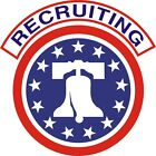 U.S. Army Recruiting Wall Window Vinyl Decal Sticker Military