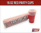 Red BeerCup's Beer Pong Cups 16 Oz  Rote Party Becher im US-College Style NEU