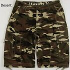 BN: MENS  CAMOUFLAGE CARGO SHORTS  SIZE: 30-52