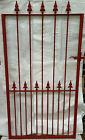 High Quality Wrought Iron Metal Single Gate Primed