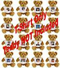 RETRO POP ACTS TEDDY T SHIRTS SMALL AND LARGE AVAILABLE POSS BEST PRICE ON EBAY