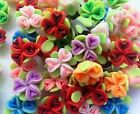 20/30/40/50Pcs Fimo Polymer Clay Love Flower  Diy Spacer Charm Beads 20mm